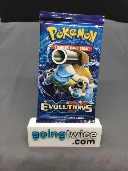Factory Sealed Pokemon 2016 XY Evolutions 10 Card Booster Pack - Charizard?