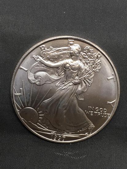 1997 United States American Silver Eagle - 1 OZ .999 Fine Silver Bullion Round