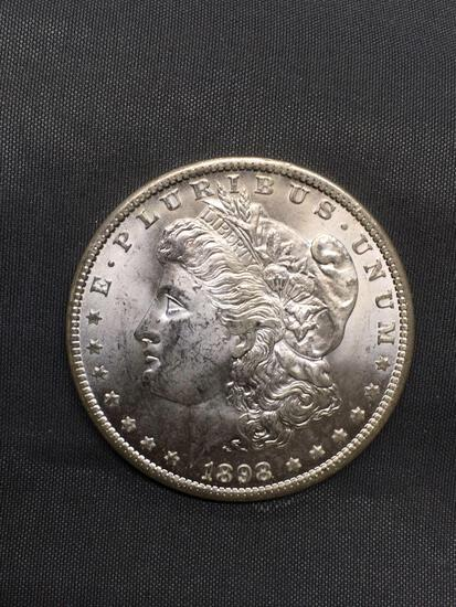 1898-O United States Morgan Silver Dollar - 90% Silver Coin from Estate
