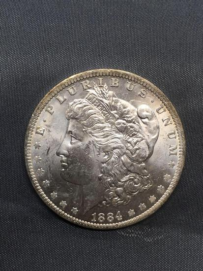 1884-O United States Morgan Silver Dollar - 90% Silver Coin from Estate