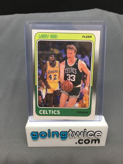 1988-89 Fleer #9 LARRY BIRD Celtics Vintage Basketball Card