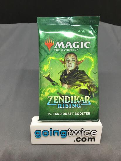 Factory Sealed Magic the Gathering ZENDIKAR RISING 15 Card Draft Booster Pack