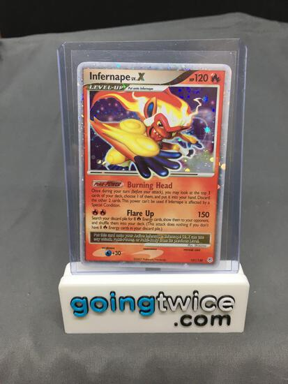 2007 Pokemon Diamond & Pearl #121 INFERNAPE LV.X Ultra Rare Holofoil Trading Card