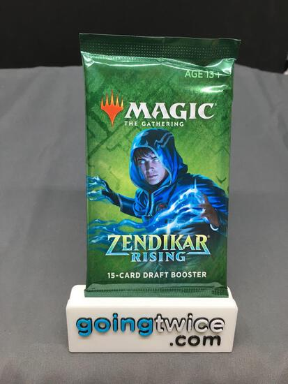 Factory Sealed Magic the Gathering ZENDIKAR RISING 15 Card Draft Booster Pack