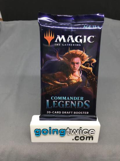 Factory Sealed 2020 Magic the Gathering COMMANDER LEGENDS 20 Card Draft Booster Pack