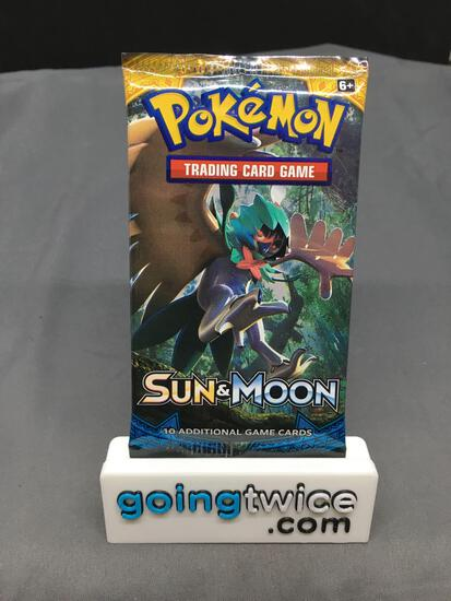 Factory Sealed 2017 Pokemon SWORD & SHIELD Base 10 Card Booster Pack