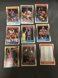 9 Card Lot of 1988-89 Fleer Basketball Vintage Cards from HUGE Collection