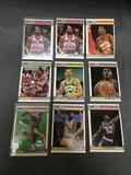 9 Card Lot of 1987-88 Fleer Vintage Basketball Cards from Huge Collection