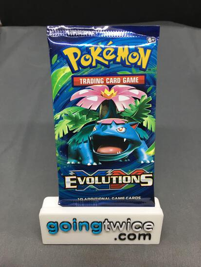 Factory Sealed Pokemon XY EVOLUTIONS 10 Card Booster Pack