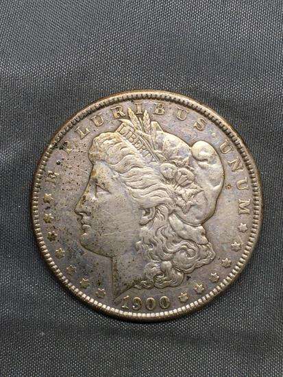 1900 United States Morgan Silver Dollar - 90% Silver Coin from Estate Collection