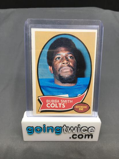 1970 Topps #114 BUBBA SMITH Colts ROOKIE Vintage Football Card