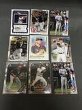 9 Card Lot of BASEBALL ROOKIE CARDS - Modern Years - FUTURE STARS & MORE!!!