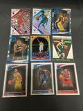 9 Card Lot of Basketball ROOKIE Cards - Newer Sets - Prizm and More - HUGE UPSIDE!!
