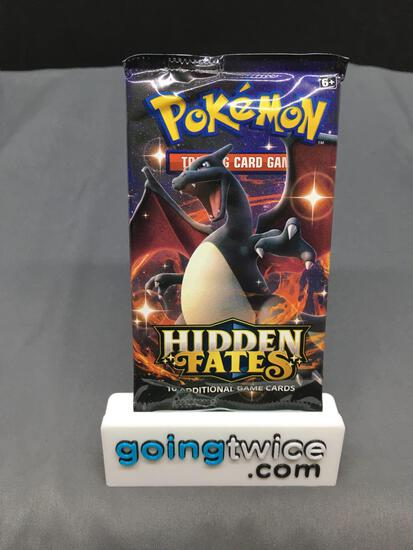 Factory Sealed 2019 Pokemon HIDDEN FATES 10 Card Booster Pack