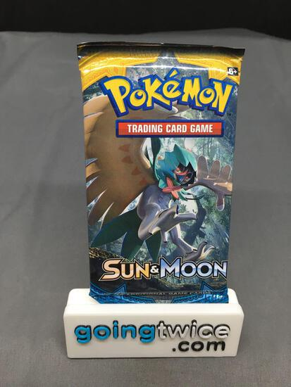 Factory Sealed Pokemon SUN & MOON Base 10 Card Booster Pack