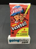 Factory Sealed 2020 Topps HERITAGE HIGH NUMBER Baseball 9 Card Hobby Pack