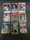 9 Card Lot of Cal Ripken Jr Baseball Cards from Estate Collection - Hall of Fame!