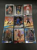 9 Card Lot of Basketball ROOKIE Cards - Newer Sets - Prizm and More - HUGE UPSIDE!!