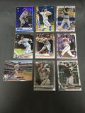 9 Card Lot of BASEBALL ROOKIE CARDS with Big Time Prospects and Future Stars