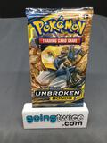 Factory Sealed Pokemon Sun & Moon UNBROKEN BONDS 10 Card Booster Pack