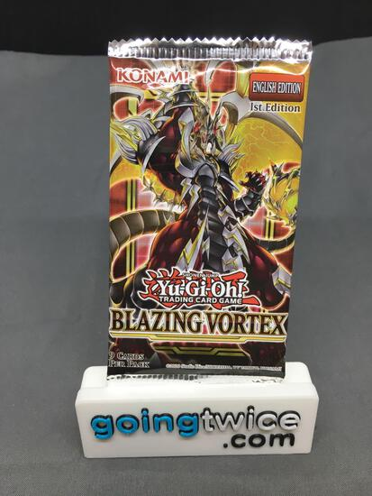 Factory Sealed Yugioh BLAZING VORTEX English 1st Edition 9 Card Booster Pack