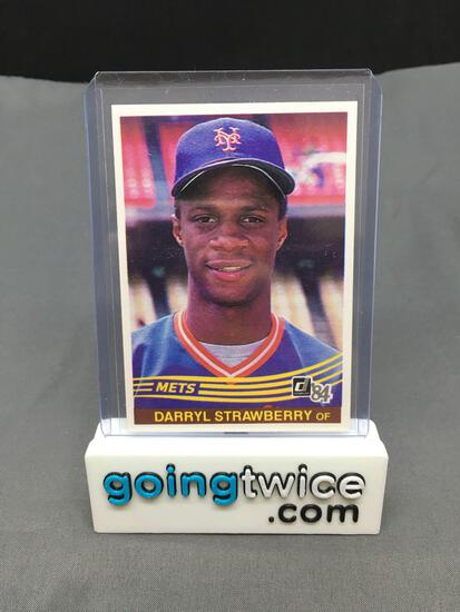 1984 Donruss #68 DARRYL STRAWBERRY Mets ROOKIE Baseball Card