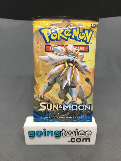 Factory Sealed Pokemon SUN & MOON Base Set 10 Card Booster Pack
