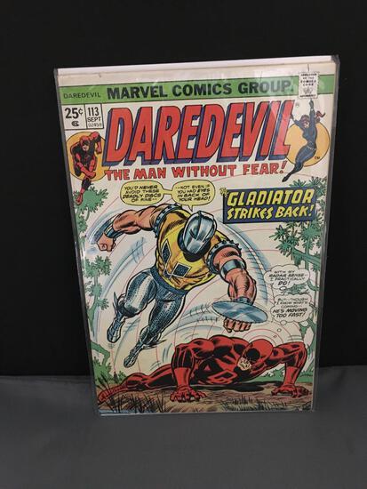 1974 Marvel Comics DAREDEVIL Vol 1 #113 Bronze Age Comic Book - DEATH STALKER 1st Appearence