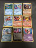 9 Card Lot of Vintage Pokemon EX SERIES Holofoil Cards from Massive Collection