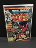 1975 Marvel Comics MARVEL PREMIERE IRON FIST #23 Bronze Age Comic Book - WARHAWK 1st Apparence