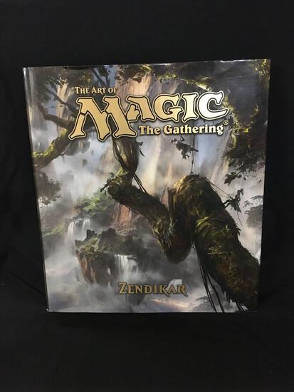 The Art of Magic the Gathering Zendikar Hardcover Book