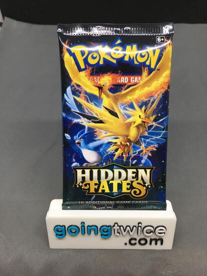 Factory Sealed Pokemon HIDDEN FATES 10 Card Booster Pack
