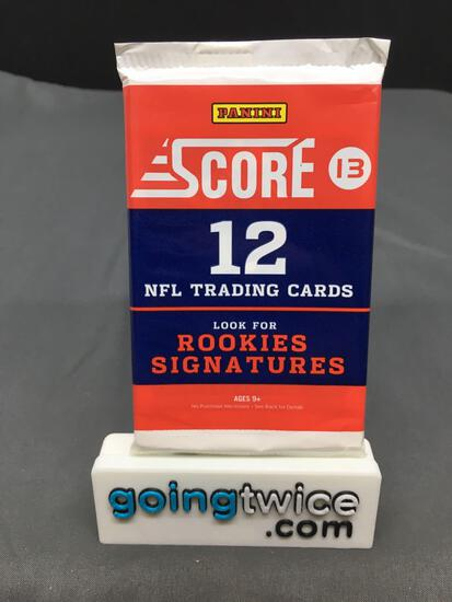 Factory Sealed 2013 Panini SCORE Football 12 Card Pack