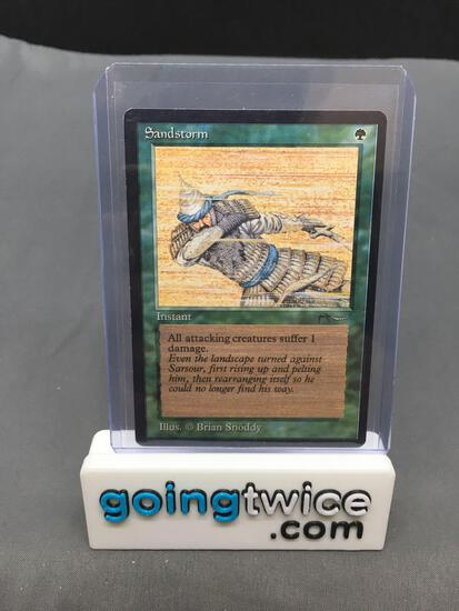 Vintage Magic the Gathering Arabian Nights SANDSTORM Trading Card from Huge Collection