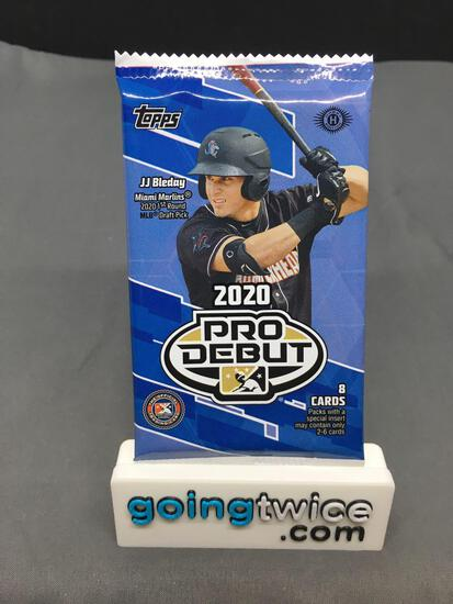 Factory Sealed 2020 Topps PRO DEBUT Baseball 8 Card Pack