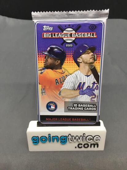 Factory Sealed 2020 Topps BIG LEAGUE BASEBALL 10 Card Pack