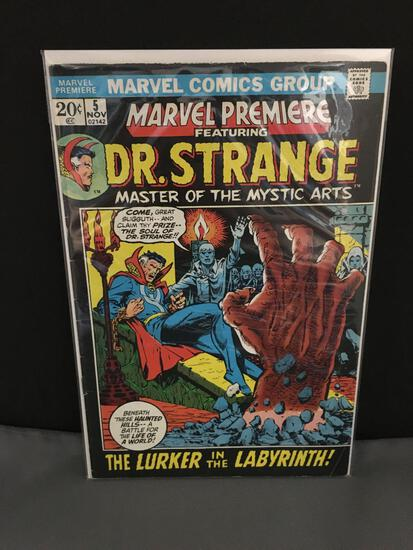 Vintage MARVEL PREMIERE Featuring DR STRANGE #5 Comic Book from Esate Collection