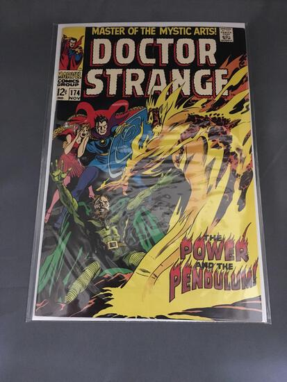 Vintage Marvel DOCTOR STRANGE #174 Silver Age Comic Book from Estate Collection