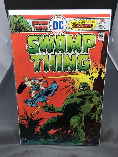 DC Comics SWAMP THING #21 Vintage Comic Book From Estate Collection