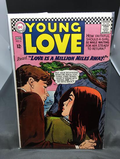 DC Comics YOUNG LOVE #61 Vintage Silver Age Comic Book from Estate Collection