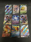 9 Card Lot of Modern Ultra Rare Holofoil Pokemon Cards from Massive Collection