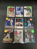 9 Card Lot of KEN GRIFFEY JR. Seattle Mariners Baseball Cards from Massive Collection