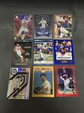 9 Card Lot of SERIAL NUMBERED Sports Cards from Huge Collection with Rares and Stars!