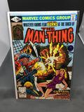 Marvel Comics THE MAN-THING #8 Vintage Comic Book from Estate Collection - Horror!