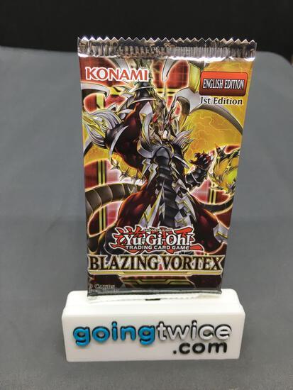 Factory Sealed Yu-Gi-Oh Yugioh BLAZING VORTEX 9 Card Booster Pack