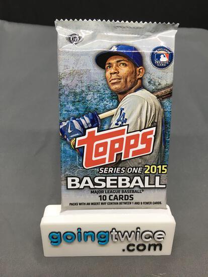 Factory Sealed 2025 Topps Baseball SERIES 1 Hobby Set 10 Card Pack