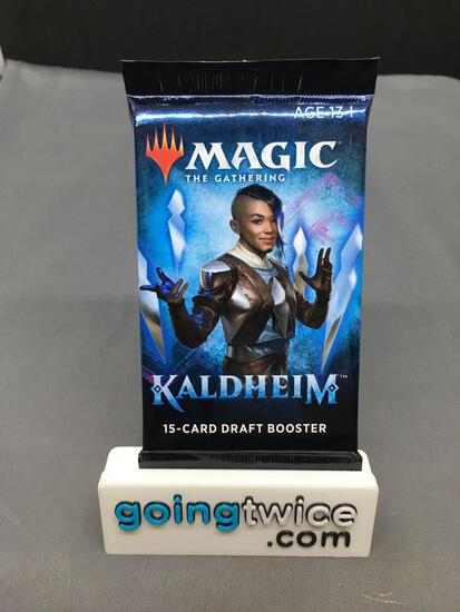 Factory Sealed MAGIC the Gathering KALDHEIM 15 Card Draft Booster Pack