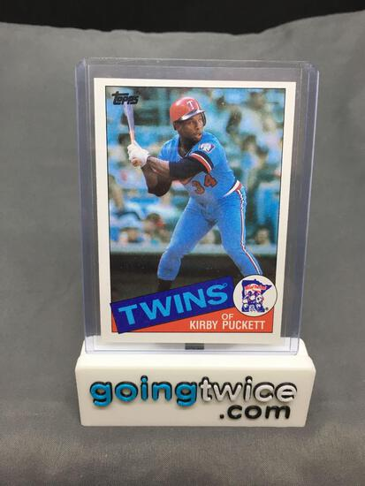 1985 Topps Baseball #536 KIRBY PUCKETT Twins Rookie Trading Card from Massive Collection