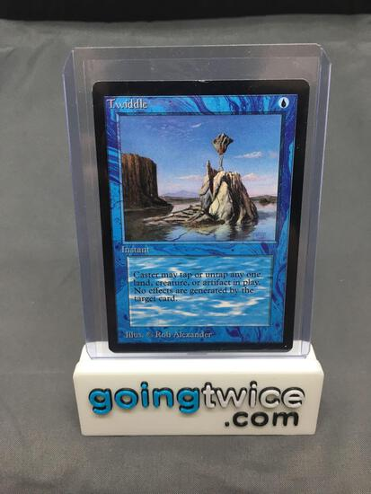 Magic the Gathering Beta TWIDDLE Vintage Trading Card from Closet Find Collection