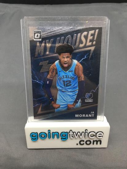 2019-20 Donruss Optic My House #7 JA MORANT Grizzlies ROOKIE Basketball Card